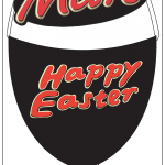 Mars Easter egg design