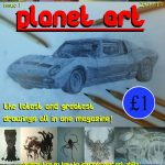 Planet art cover