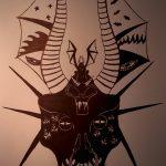 Skull throne of wyverns